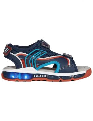 GEOX bērnu zilas sandales SANDAL ANDROID BOY