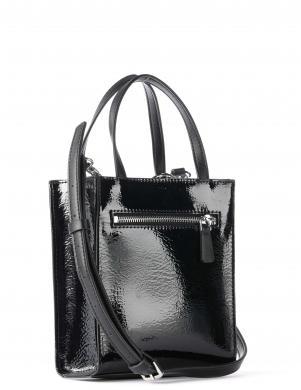 GUESS sieviešu melna soma pār plecu PICNIC MINI