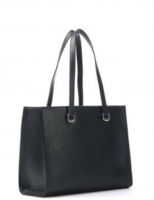 LOVE MOSCHINO sieviešu melna soma pār plecu