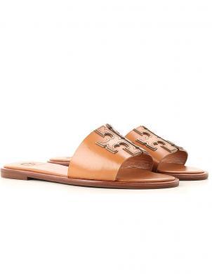 TORY BURCH sieviešu brūnas čības - sandales INES