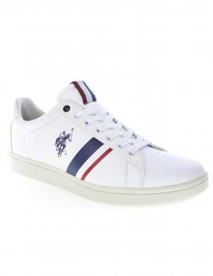 U.S. POLO ASSN. vīriešu balti ikdienas apavi ALCOR