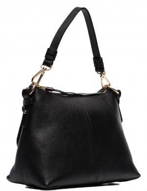 SEE BY CHLOE sieviešu melna ādas soma pār plecu
