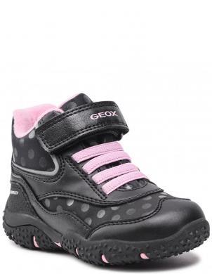 GEOX bērnu melni ikdienas apavi meitenēm BALTIC