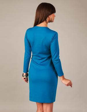 VANESSA eleganta sieviešu zilas krāsas kleita