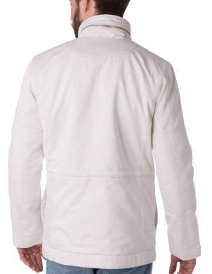 DIESEL balta vīriešu jaka FROZEN JACKET