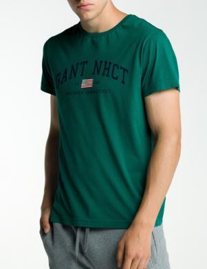 Zaļš vīriešu krekls GANT