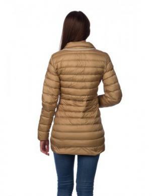 GEOX gaiši brūna sieviešu dūnu jaka