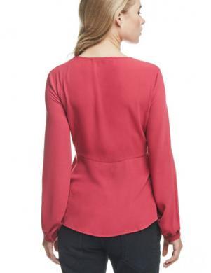 GUESS spilgti rozā krāsas stilīga sieviešu blūze