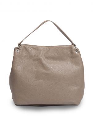 PIERRE CARDIN sieviešu brūna dabīgas ādas soma liela
