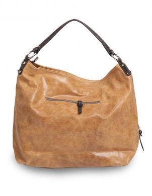 PIERRE CARDIN sieviešu gaisi brūna dabīgas ādas soma liela