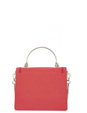 Maza sarkana soma ar dekoratīvu izšuvumu HEINE