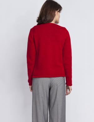 MKM sieviešu sarkanas krāsas džemperis
