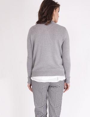MKM pelēkas krāsas stilīgs sieviešu džemperis