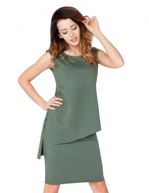 TESSITA zaļas krāsas skaista sieviešu blūze