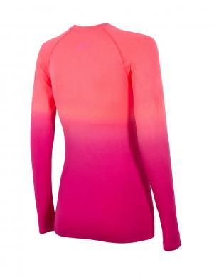 4F sieviešu koraļļu krāsas blūze