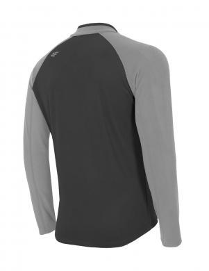 4F vīriešu pelēkas krāsas džemperis