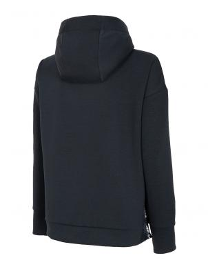 Sieviešu tumši pelēks džemperis ar kapuci BLD014 4F