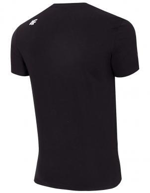 Vīriešu melns krekls TSM020 4F