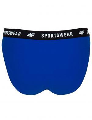 Sieviešu peldkostīma apakšbikses zila KOS004D 4F