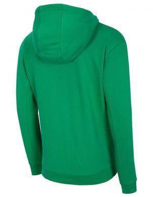 Vīriešu zaļš džemperis ar kapuci BLM002 4F