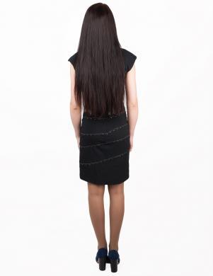 JOHN RICHMOND melnas krāsas eleganta sieviešu kleita