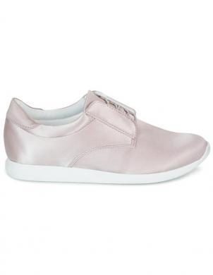 Sieviešu spīdīgi gaiši rozā tekstīla brīva laika apavi Kasai VAGABOND