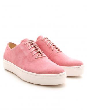 Sieviešu rozā zamšas brīva laika apavi Camille VAGABOND