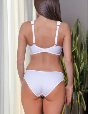 VALEA sieviešu baltas krāsas apakšbikses Vivian