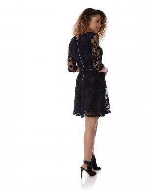 YUMI melna sieviešu kleita