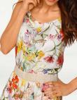 Vasaras puķaina kleita RICK CARDONA