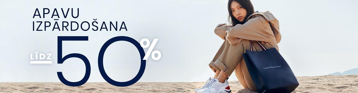 Apavu izpārdošana lidz 50%